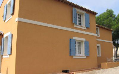 Travaux de façades à La Ciotat