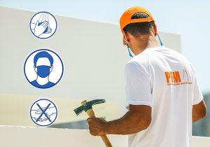 Covid et chantier de façade